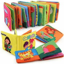 Intelligence development Cloth Bed Cognize Book Educational Toy for Kid Baby
