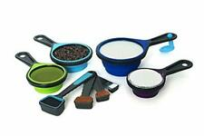 Measuring Cups and Spoons Set, Kitchen, Cooking, Baking, Collapsible