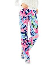 Lilly Pulitzer Madeira Pant High Tide Navy Tropicolada RRP $138 Size 8