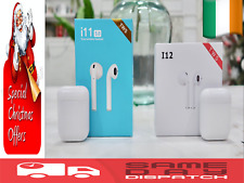 i9 i11 i12 TWS Wireless Bluetooth Airpods Headphones Earbuds Earpod Touch