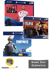New SONY PlayStation 4 Pro & PS4 Slim with Various Games Bundle - 1 TB 2 Colours