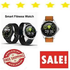 Smart Watch For Men And Women Android & Ios Waterproof Wifi Blood Pressure NEW