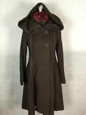 STUNNING HOODED COAT  BY BOHEMIA OF SWEDEN. RRP £245.  SZ L