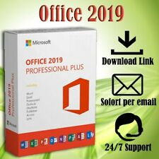 Office 2016/2019 Professional Plus (PRO PLUS) 1-5PC / 32&64 Bits / ESD per Email