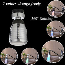 Color Changing RGB Glow Water Tap Water Faucet Led Light Temperature Sensor