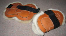 FRANK BAINES English Leather FETLOCK Boots SHEEPSKIN or NEOPRENE Liner