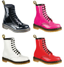 Dr Martens Air Wair Patent Boots 1460Z 8 Eyelets