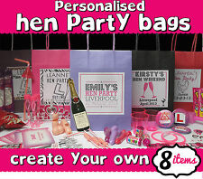 HEN NIGHT PARTY GIFT BAG ** FILLED** - CREATE YOUR OWN -PERSONALISED ACCESSORIES