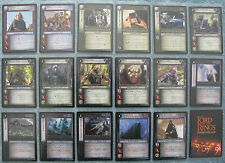 Lord of the Rings TCG Shadows Rare Cards Part 2/2 (CCG LOTR)