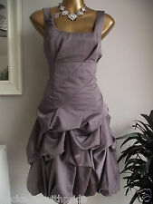 MONSOON MINK CARMEL RUFFLE WEDDING PROM PARTY WEDDING COCKTAIL DRESS 10 14 16 20