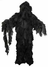 Tarnanzug Ghillie Suit ( Jacke Hose Hut ) night-camo  inclusive Packsack M / L
