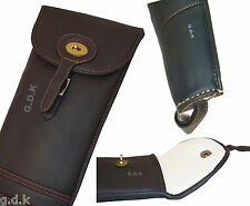 LEATHER SHOTGUN SLIP, SHOT GUN SLIP, LEATHER GUN CASE, THICK INNER LINING 154pu