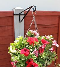 Hanging Basket Brackets For Concrete Posts Easyfill Baskets Birdfeeders