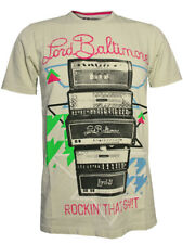 "LORD BALTIMORE Herren TShirt ""ROCKIN THAT"" in weiß by ed hardy Audigier Designer"