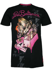 "LORD BALTIMORE Herren TShirt ""BIG BALLER"" in schwarz by ed hardy Design Audigier"