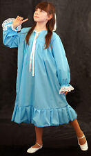 Peter Pan-Victorian-Edwardian BLUE WENDY NIGHTDRESS Fancy Dress COSTUME all ages