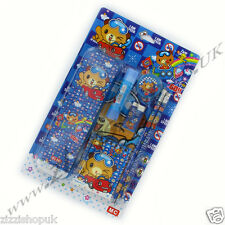 7pc Childrens Kids School Stationery Set For School Pencils Rubber Boys Girls