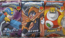 MegaMan NT Warrior TCG Booster Pack Selection