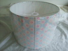 "12""/30cm LAMPSHADE MADE FROM Clarke and Clarke  FABRIC(Daisy duck egg) ."