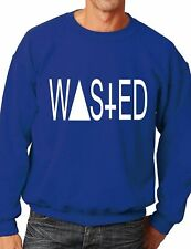 Wasted Rum Dope/Youth/ Baggy/Swag/Coke  Sweater/Jumper Unisex Size S-XXL