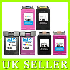 LOT Compatible Ink Cartridges Replace For HP 300XL 301XL 901XL Printer