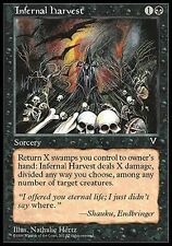 4x Raccolto Infernale - Infernal Harvest MTG MAGIC Vi Visions Eng/Ita