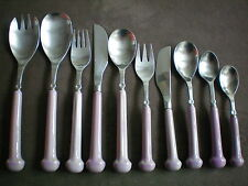 Denby Regency Ribbed Gypsy Pink Individual Cutlery Pieces