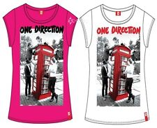 Girls Official 1D One Direction T Shirts Ages 7-13 Years S M L Take Me Home Gift
