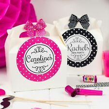 Personalised Hen Party Gift Box Filled Create Your Own Birthday Favour Bag