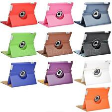 iPad 2/3/4 360 Rotating rotate Leather Case Smart flip Cover Stand ipad2,ipad3