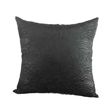 "Cushion Cover Chinese Brocade Case Gorgeous Peacock""Black"" Feather Motif cbs-40"