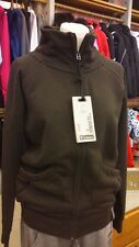 FREDDY WOMAN SWEAT FELPA DONNA FULL ZIP COLLO ALTO 37410 M72 MARRONE BROWN