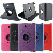 Full Rotating Flip Book Cover Case Stand for Samsung Galaxy Tab 3 T211 + Stylus