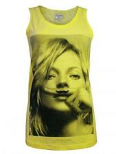ELEVEN PARIS Damen Tank Top Shirt Boom *Kate Moss Mossy Deb* bap NEU in gelb