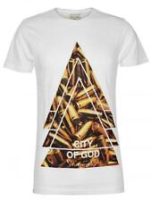 ELEVEN PARIS Herren Top Gio T-Shirt Boom *City God* bap Goi puta madre in Weiss