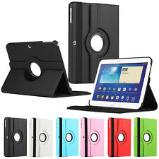 "Samsung Galaxy Tab 3 10.1"" P5200 360° Rotating Rotate Cover Case Stand tablet"