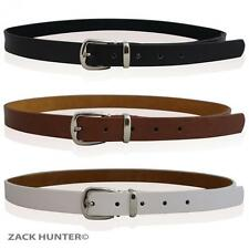 CHILDRENS REAL LEATHER SKINNY BELTS GIRLS BELTS KIDS REAL LEATHER SKINNY BELTS