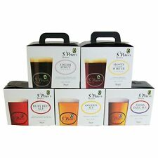 St Peters Beer Kits - FULL RANGE - GOLDEN - IPA - RUBY Home Brew Brewing