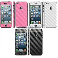 STICKER COLLANT DE PROTECTION IPHONE 5/5S BESCHERM CARBONE ADHESIF SKIN VINYL