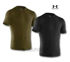 UNDER ARMOUR CHARGED TACTICAL T SHIRT VERDE OLIVA NERO rapida essiccazione