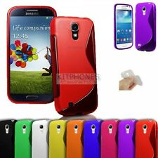 Coque housse Soft TPU S-line Samsung Galaxy S4 mini i9190 gel case hoes etui bac