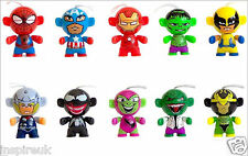 Marvel Kinder Keyring Twisthead Hulk Spiderman Wolverine Ironman Captain America
