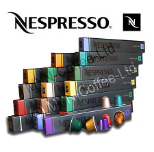 30 50 80 100 ORIGINAL NESPRESSO CAPSULES - CHOOSE YOUR OWN - GENUINE COFFEE PODS
