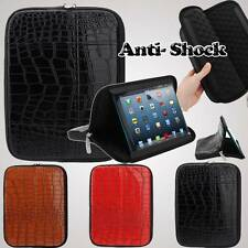 """UNIVERSAL 8.9"""" 9"""" ANTI SHOCK LEATHER STAND BAG COVER SLEEVE CASE ANDROID TABLET"""