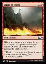 4x Cerchio di Fiamme - Circle of Flame MTG MAGIC 2015 M15 Eng/Ita