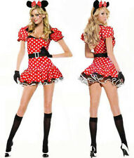 Sexy Halloween Mujer Minnie Mouse Disfraz S M L