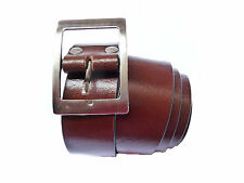 Smooth Leather Formal belt for Men Gents at lowest price - Brown