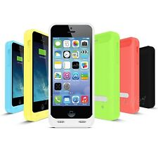 Apple MFi Certified iFans 2400mAh Battery Charger Case Power Pack for iPhone 5c