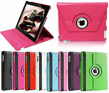 New iPad Air 5 Leather 360 Degree Rotating Smart Stand Case Cover