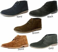 Red Tape Desert Suede Leather Lace Up Mens Chukka Gobi Boots HIGH QUALITY